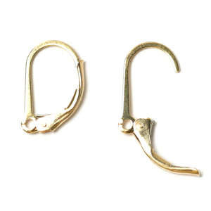 Gold Fill Lever Back Ear Wires