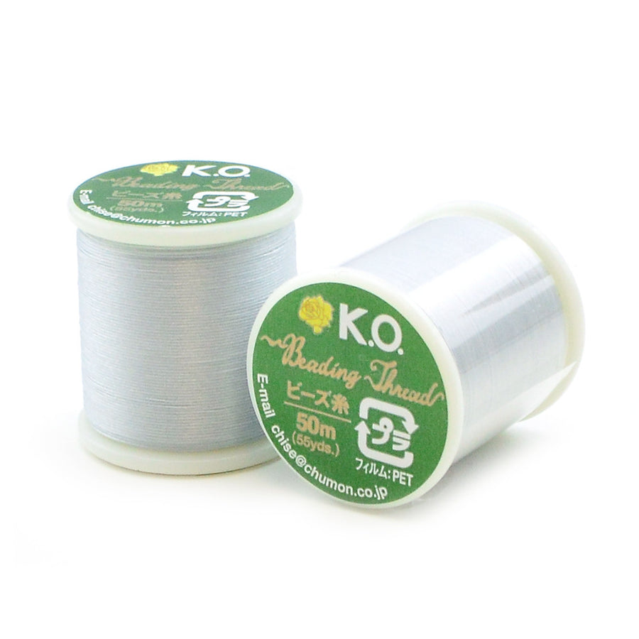 Light Grey- KO Thread - Beadshop.com