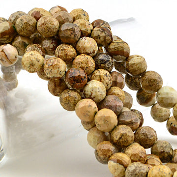Harmony- Picture Jasper , Gemstone - All Seasons, Beadshop.com