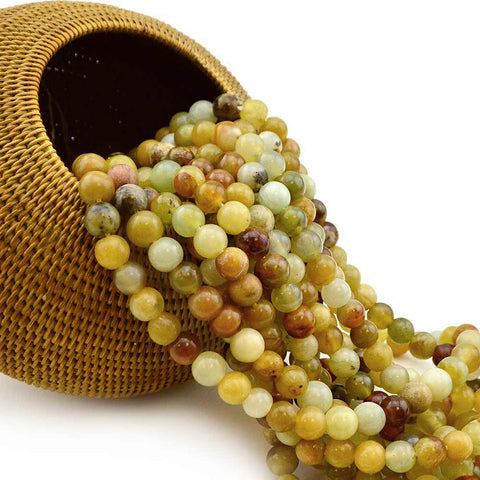 Honey Serpentine , Vintage Finds - All Seasons, Beadshop.com