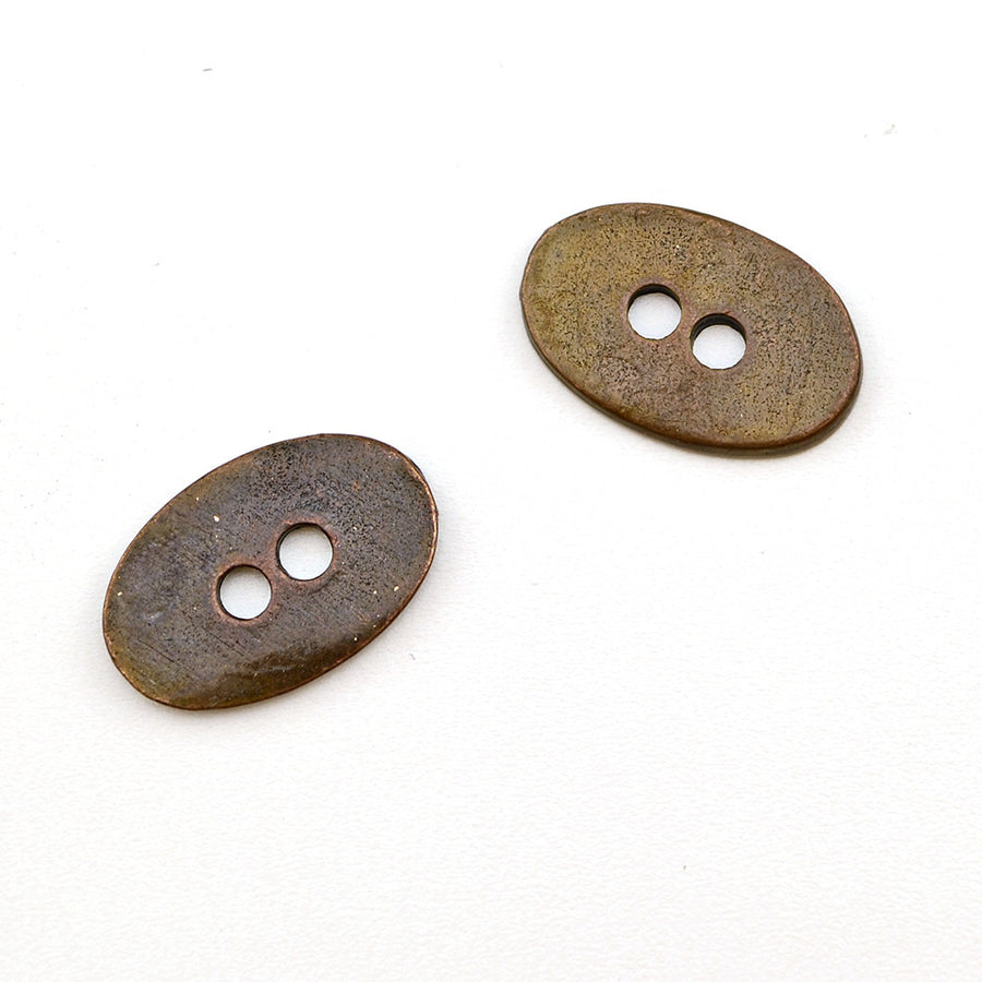 Josie- Copper , Buttons - Continental, Beadshop.com