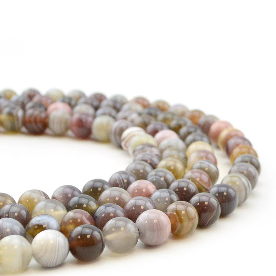 Kalahari- 8mm , Gemstone - Dakota Stones, Beadshop.com