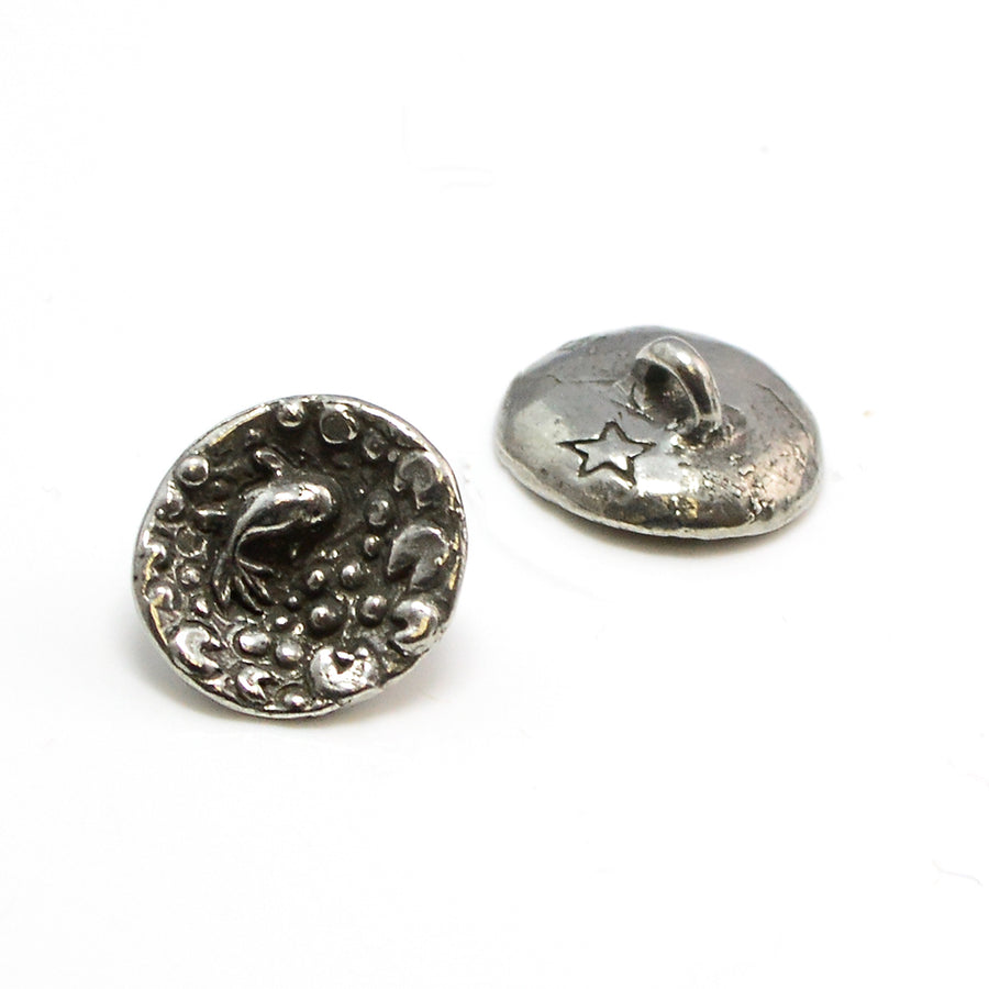 Little Fish Pond- Pewter - Beadshop.com