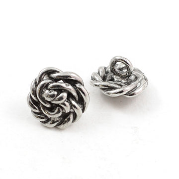 Making Waves- Silver , Buttons - Continental, Beadshop.com