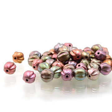 6mm Melons- Metallic Mix