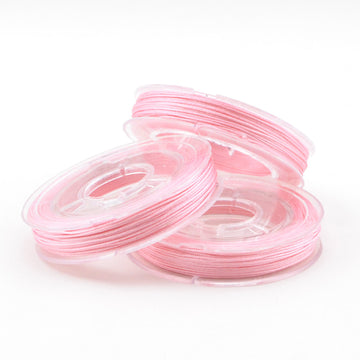 Pink- 0.4mm , 0.4mm chinese knotting cord - Tangles n' Knots, Beadshop.com