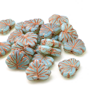 Maple- Blue Opaline Copper Wash