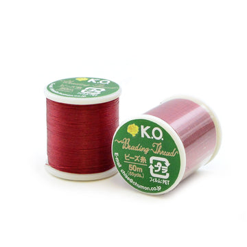 Rich Red- KO Thread - Beadshop.com
