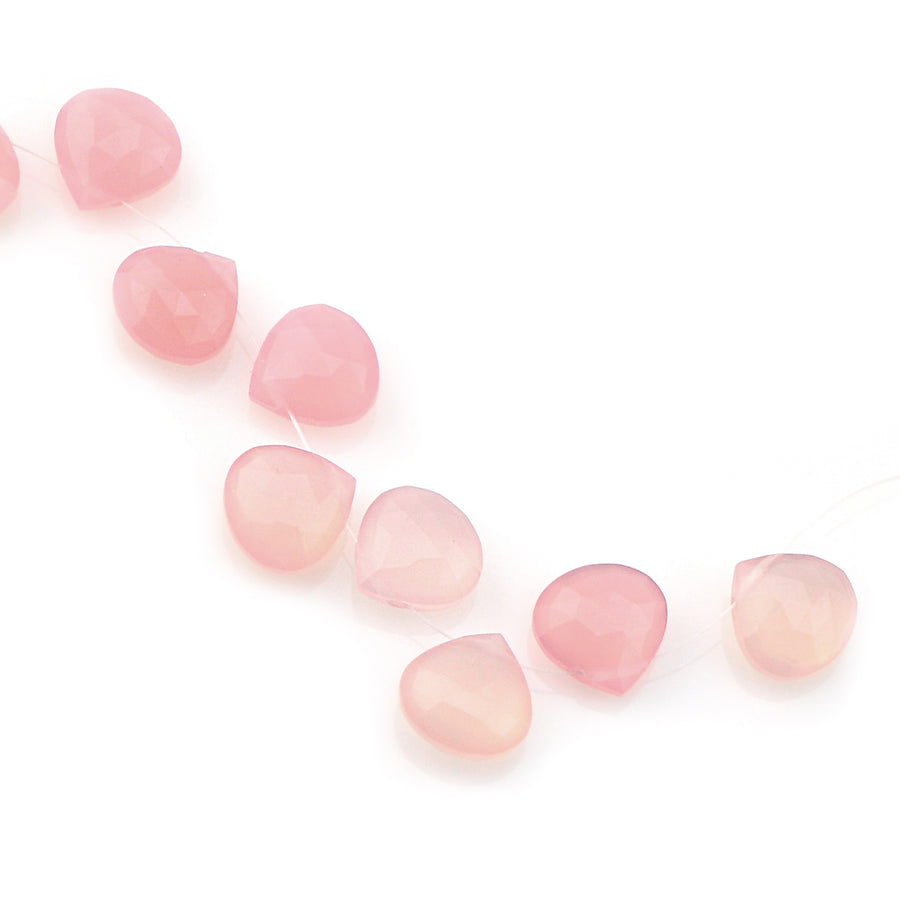 Rose Chalcedony Briolette