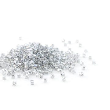 SB18-242 Sparkling Pewter Lined Crystal