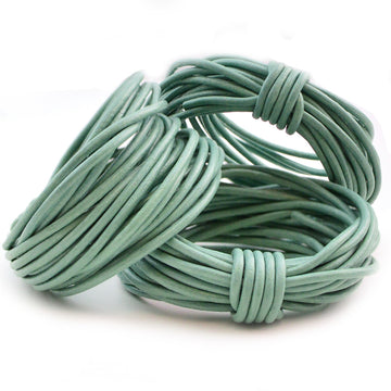 Seafoam- 2.0mm Indian - Beadshop.com