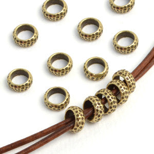 Shortcut - Vintage Brass , Metal Beads - JBB International, Beadshop.com