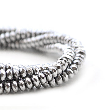 Silvered Hematite , Gemstone - Amy of Africa, Beadshop.com