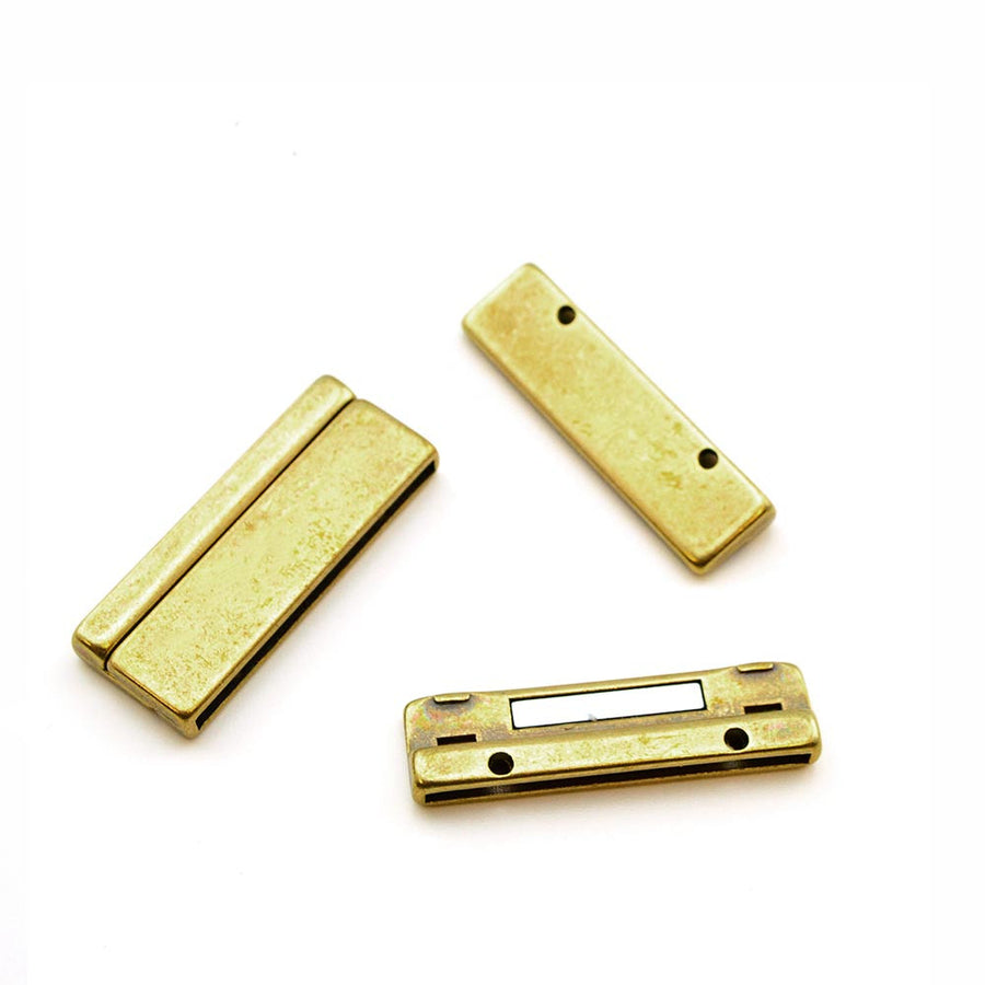 Skyline- Antique Brass , Clasps - Helby, Beadshop.com