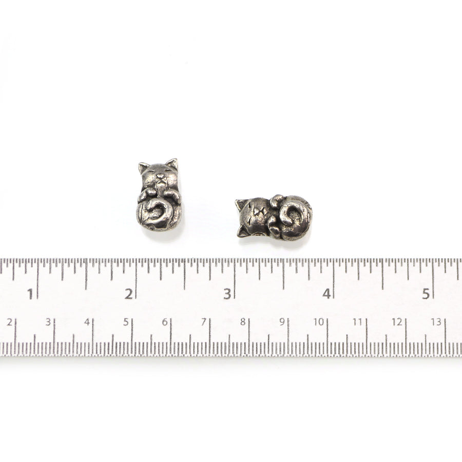 Sleepy Cat Bead