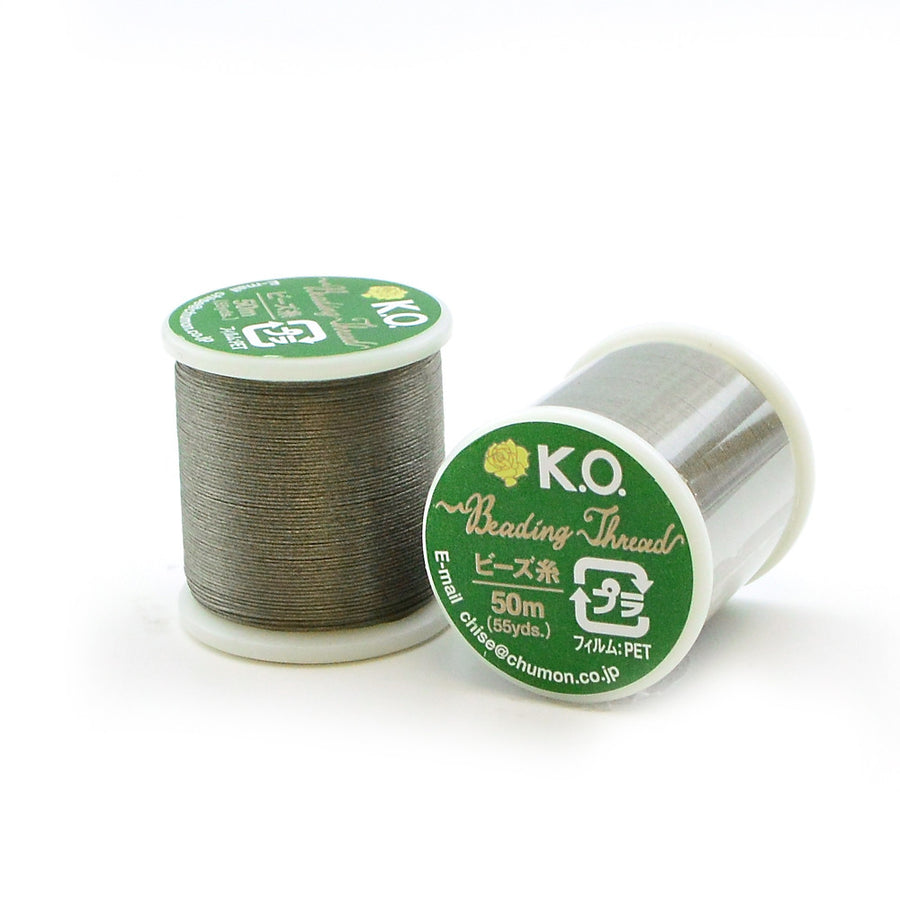 Smoke Green- KO Thread - Beadshop.com