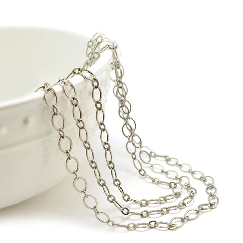 Smooth Sailing- Antique Silver