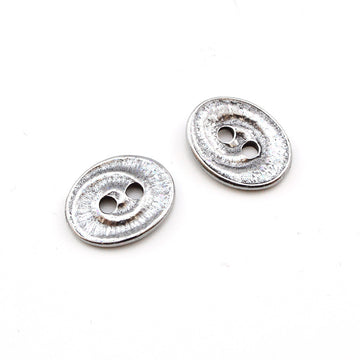 Swirl- Antique Silver , Buttons - Tierracast, Beadshop.com