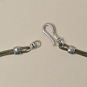 Round and Round - Silver , Clasps - Helby, Beadshop.com
