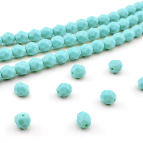 6mm- Turquoise