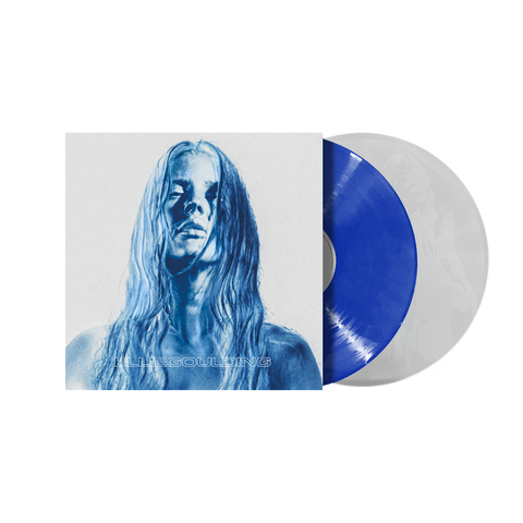 Signed 'Brightest Blue' Blue & Clear 2LP