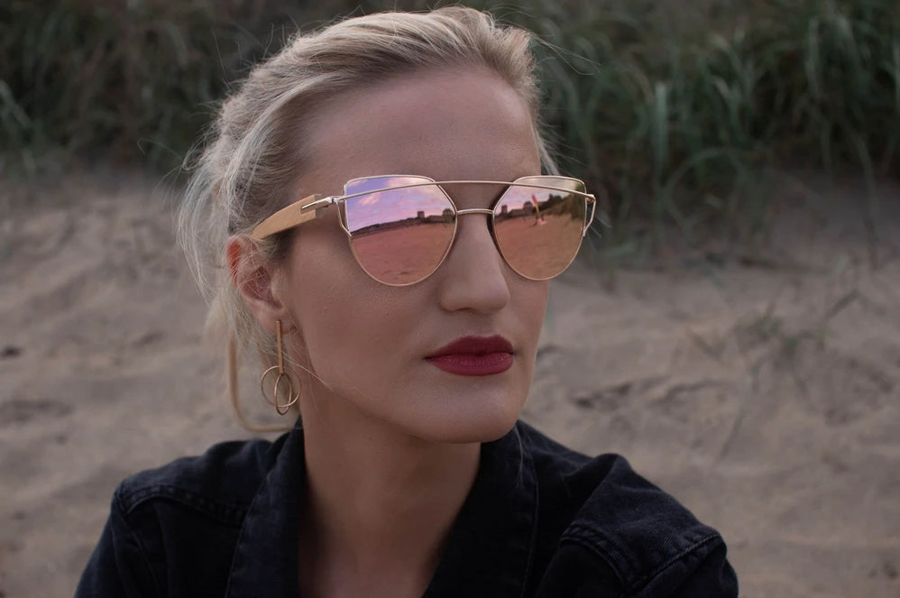 womens wooden sunglasses