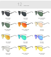 Load image into Gallery viewer, Thin Rail Aviator Sunglasses Polarized Unisex - trendshades.com
