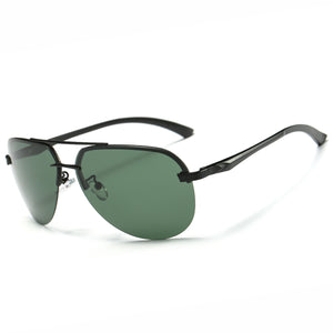 Thin Rail Aviator Sunglasses Polarized Unisex - trendshades.com