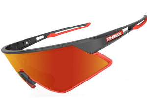 Lightweight Cycling Sunglasses Multiple Lens Config Myopic Frame Polarized Photochromic - trendshades.com