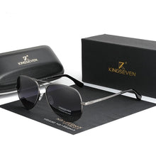 Load image into Gallery viewer, *New* Unisex Classic Aviator Sunglasses | Polarized UV400 - trendshades.com