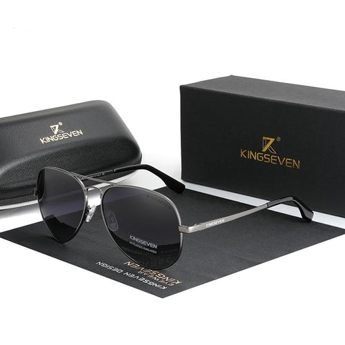 *New* Unisex Classic Aviator Sunglasses | Polarized UV400 - trendshades.com