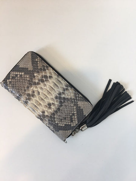 Python wallet with tassel