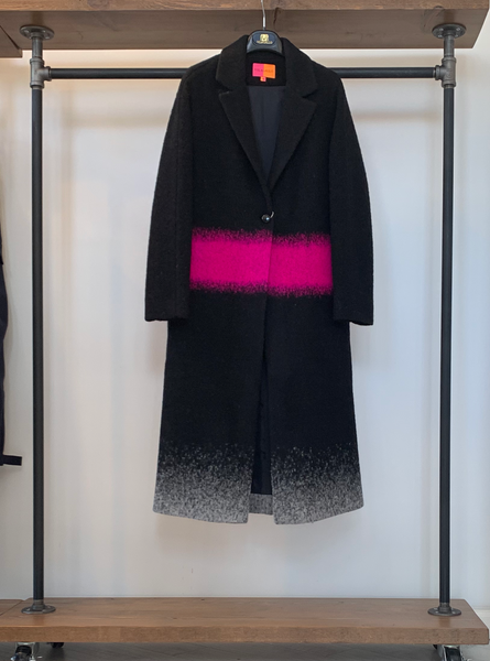 Vilagallo Beatrice Pink Moon Coat
