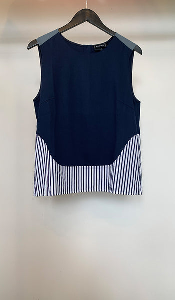 Sleeveless top with
