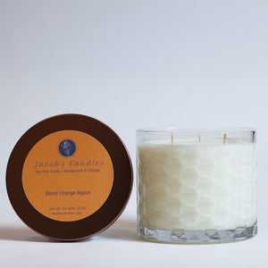 Blood Orange Agave | Handpoured 3-Wick Soy Wax Candle