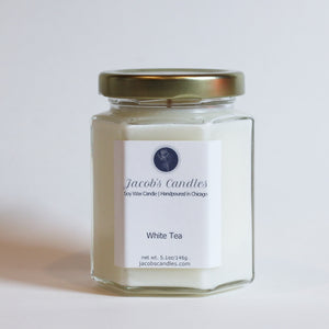 White Tea | Handpoured Soy Wax Candle