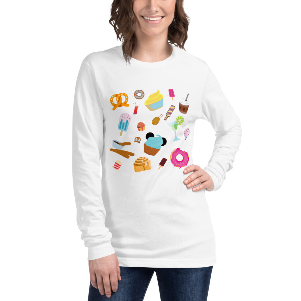 Park Snacks Unisex Long Sleeve Tee (multiple colors available)