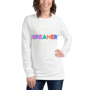 Dreamer Unisex Long Sleeve Tee (multiple colors available) - The Casual Bee Boutique