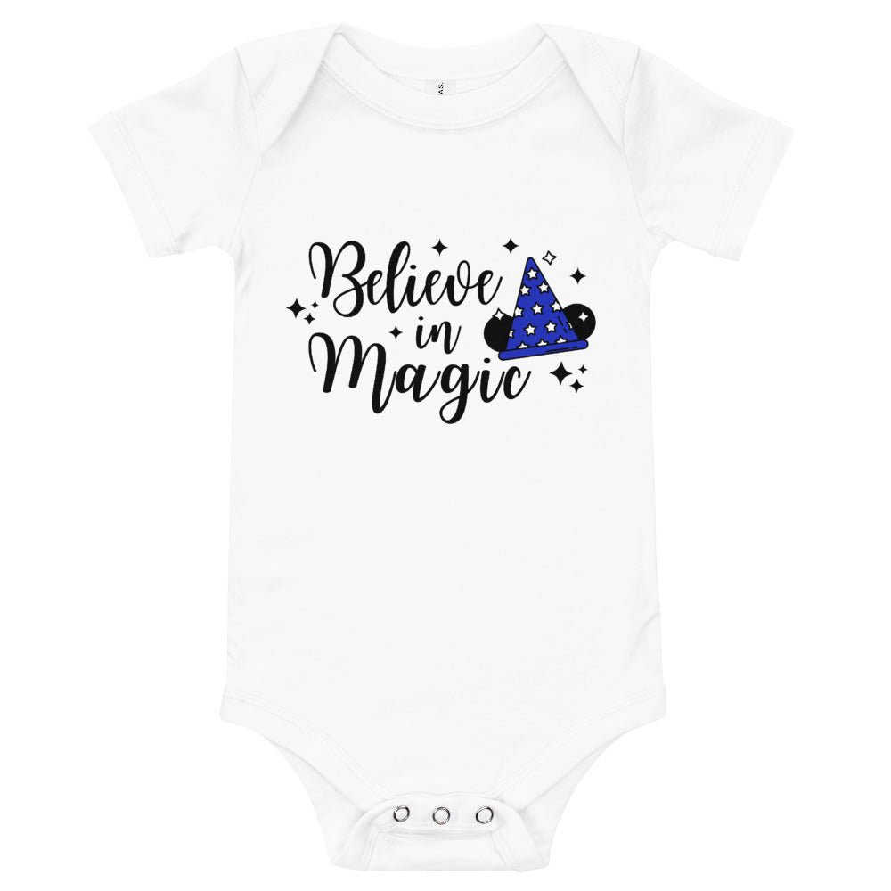 Believe in Magic Baby Onesie