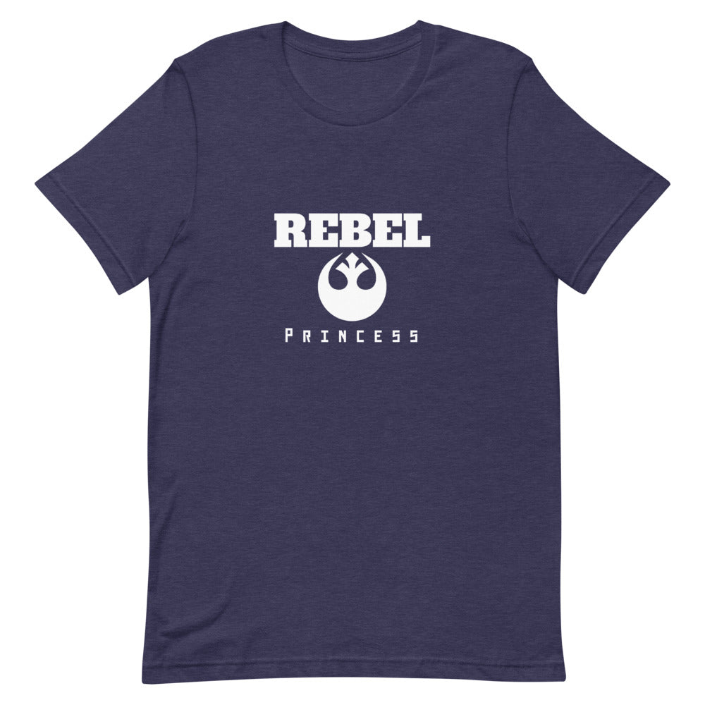 Rebel Princess Heather Short-Sleeve Unisex Tee