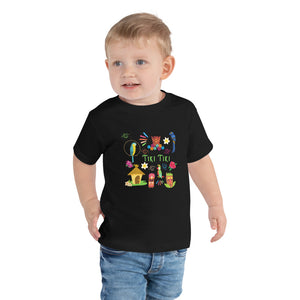 Tiki Tiki Toddler Short Sleeve Tee
