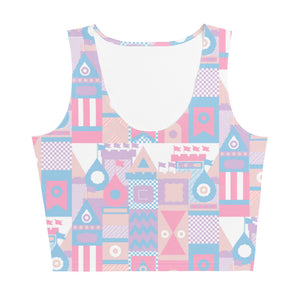 Small World Crop Top