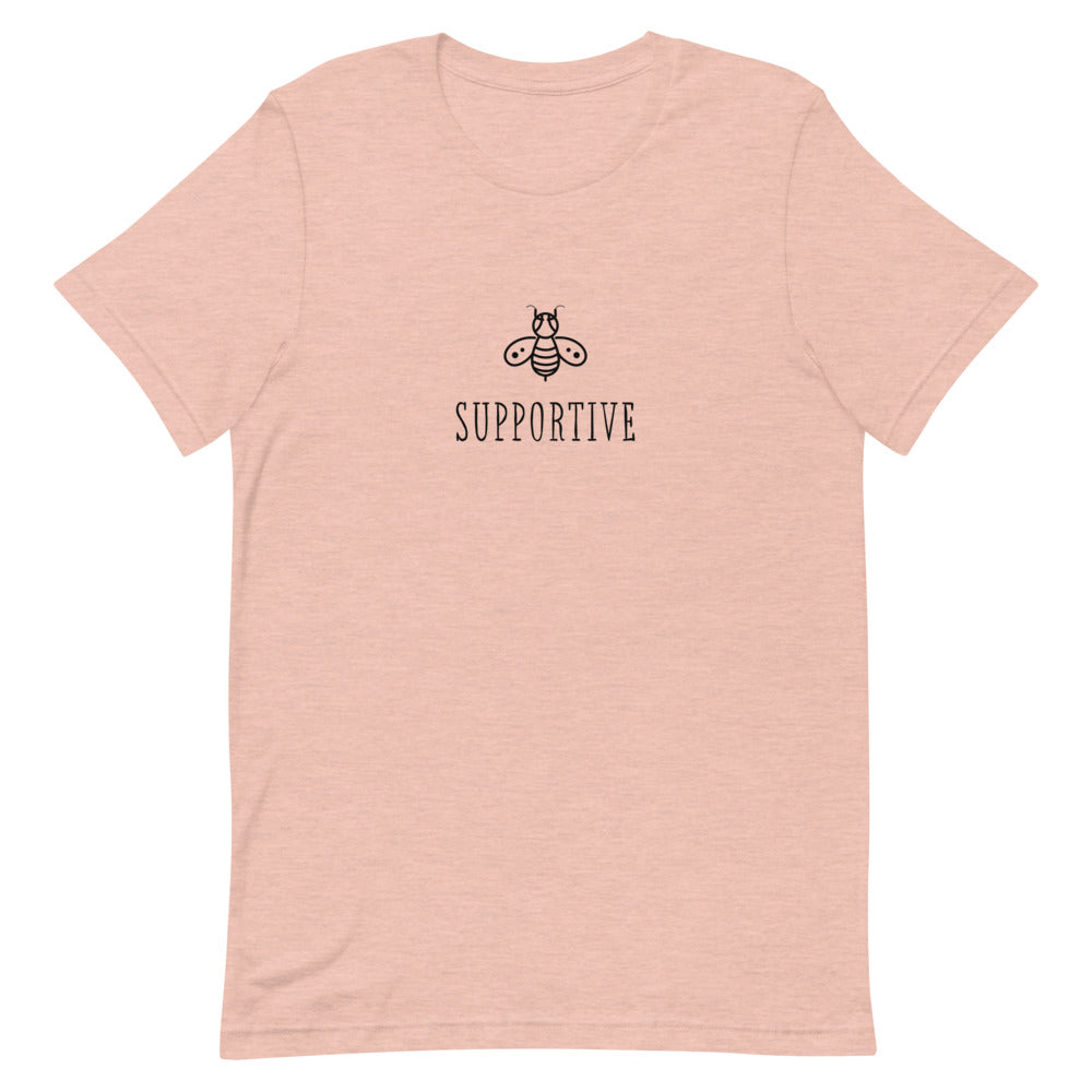 Bee Supportive Short-Sleeve Unisex Tee