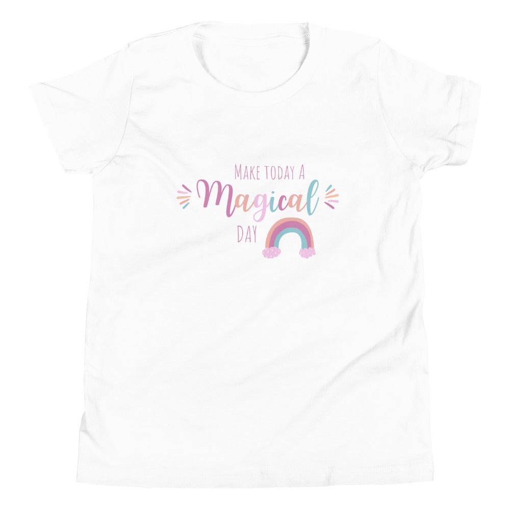 Magical Day Youth Short Sleeve T-Shirt