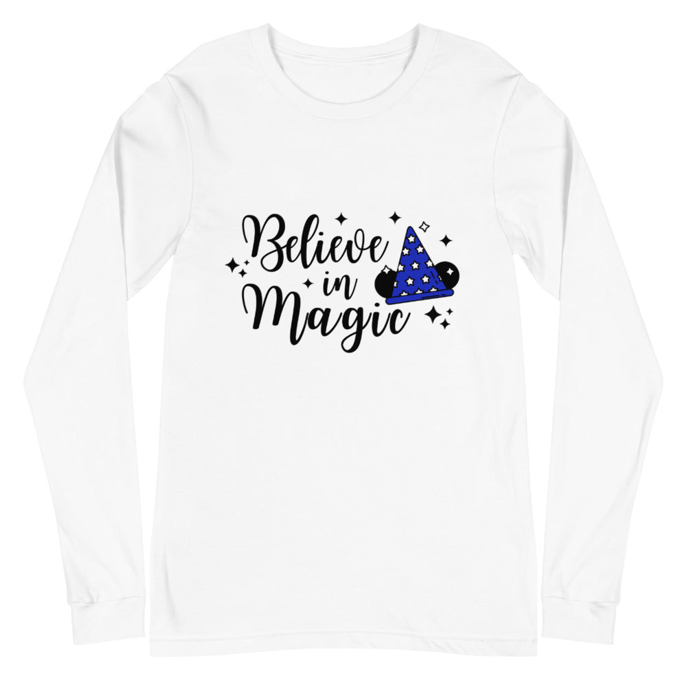 Believe in Magic Unisex Long Sleeve Tee