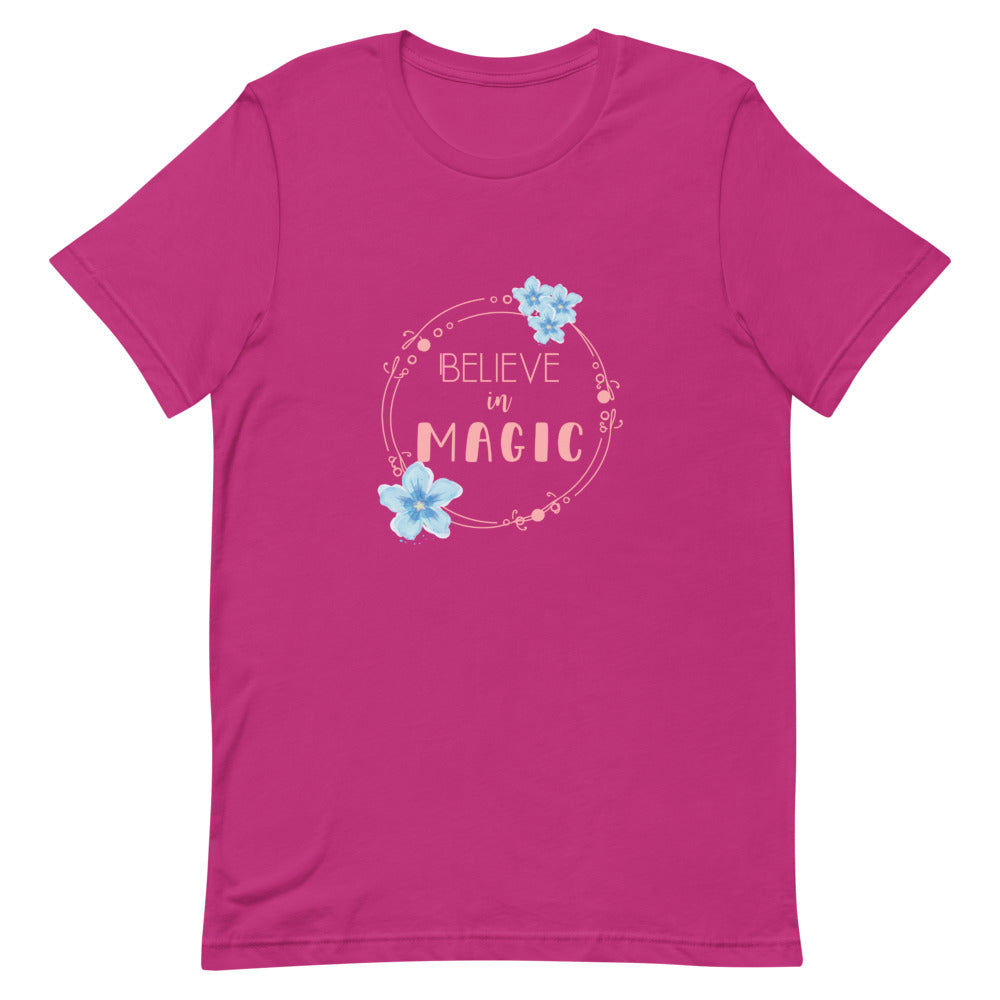 Believe in Magic Unisex Tee (multiple colors available) - The Casual Bee Boutique