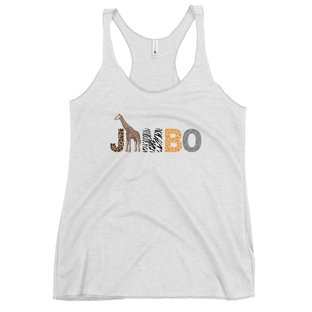 JAMBO Racerback Tank (multiple colors available)