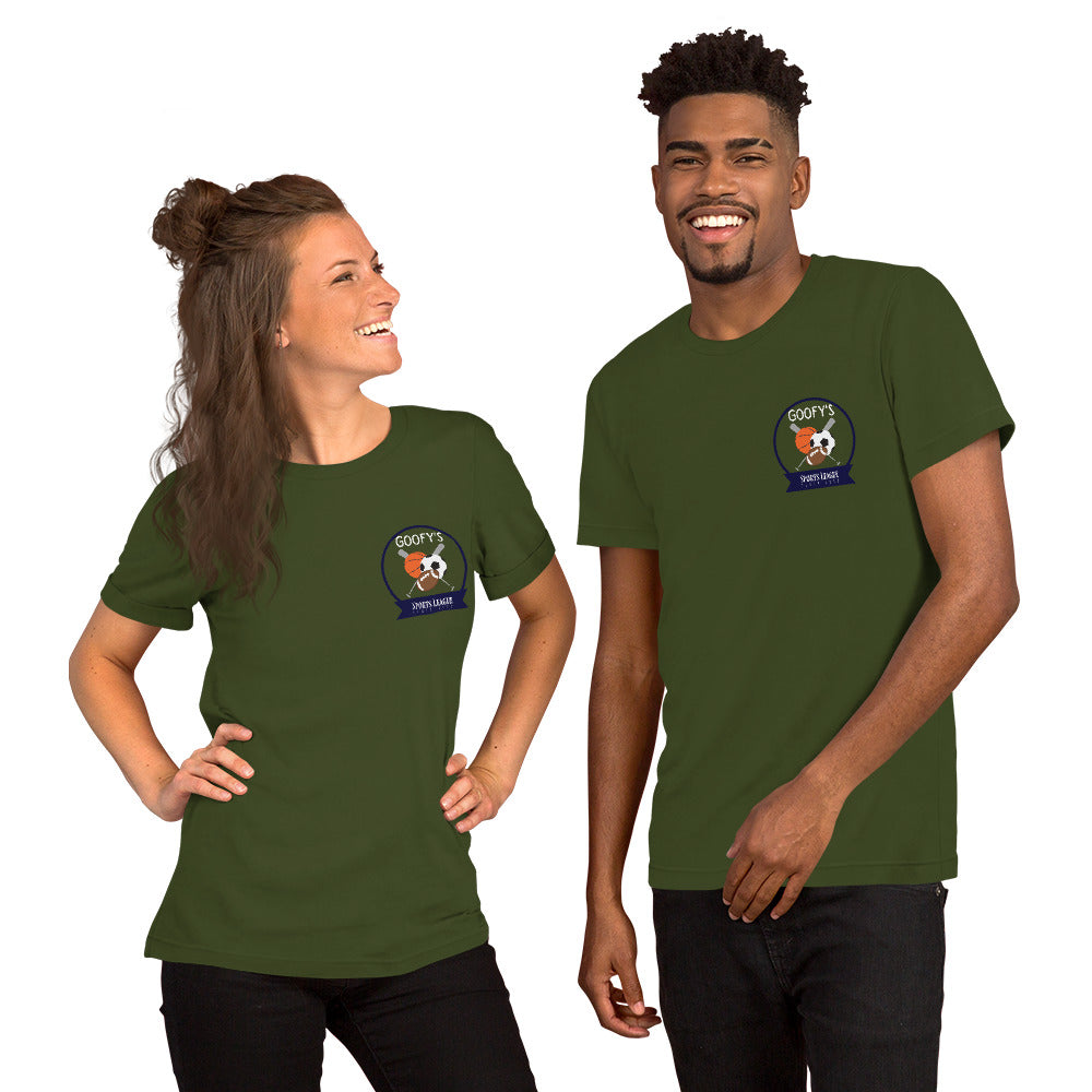 Sporty Unisex Tee (multiple colors available)