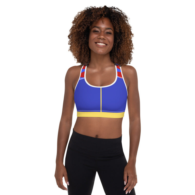 Fairest of them All Padded Sports Bra