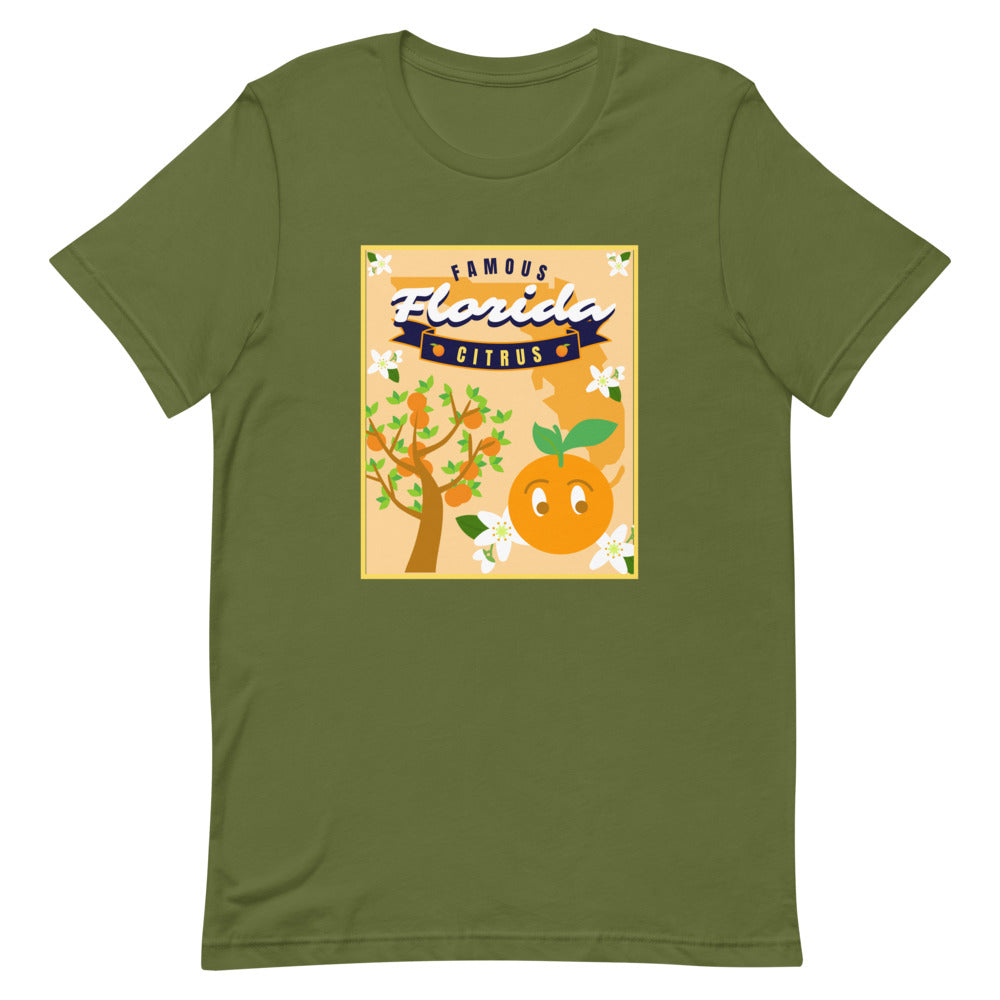 FL Citrus Short-Sleeve Unisex Tee